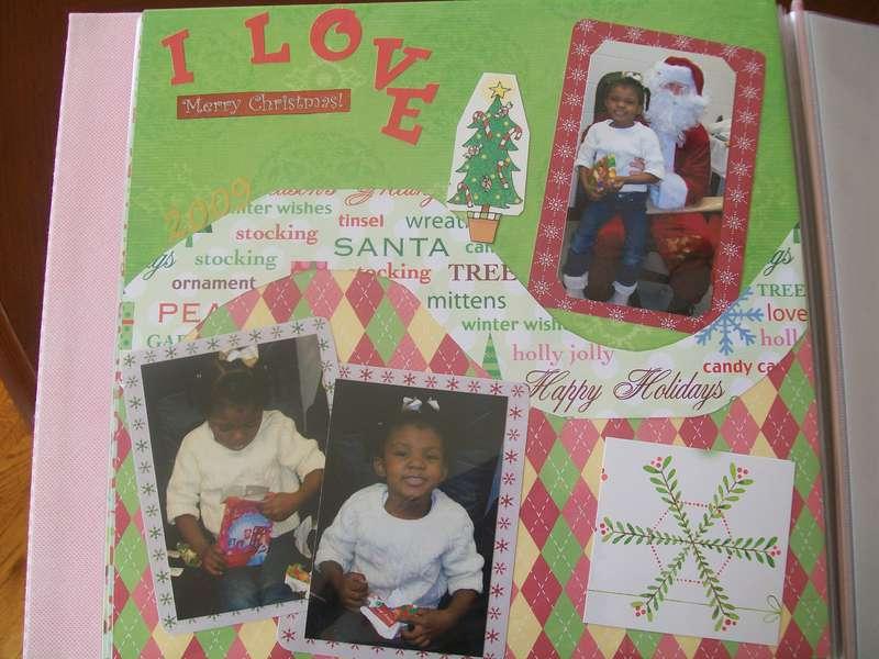 Morgan- Christmas 2009