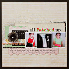 All Patched Up *Webster's Pages*