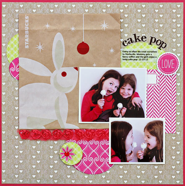 Cake Pop *New Webster's Pages*
