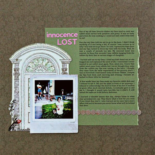 Innocence Lost *SFTIO*