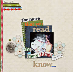 The More that you Read *Webster's Pages*