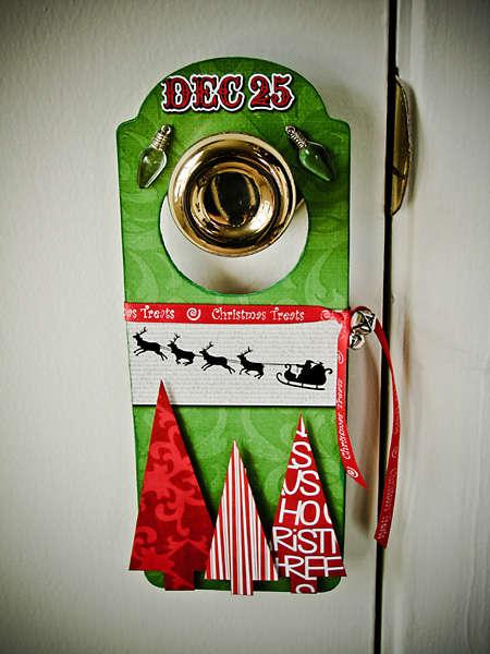 XMas Doorknob Hanger