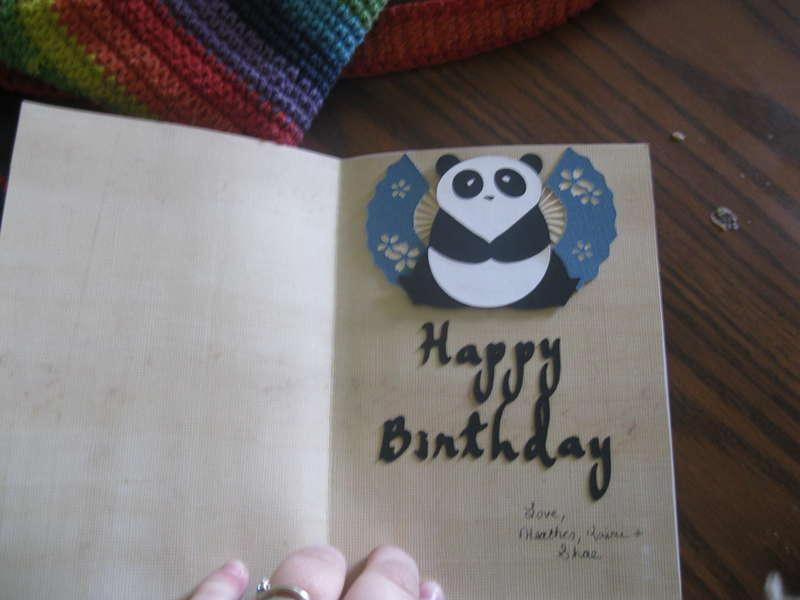 Inside Birthday Card for Neuighbor