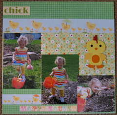 2nd page of Your my Favorite Chick layout