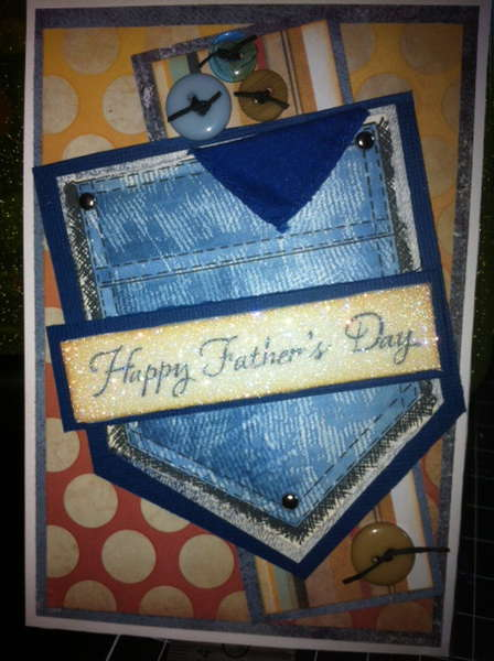 Blue Jeans Father's Day Card