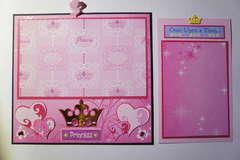 Disney Mini Album Pull Out Tab Princess