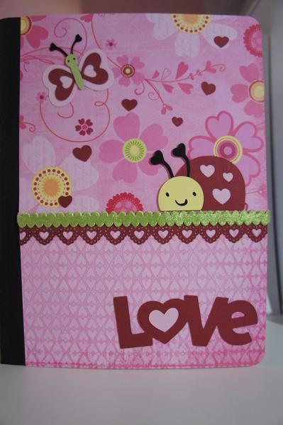 Valentine Altered Composition Book