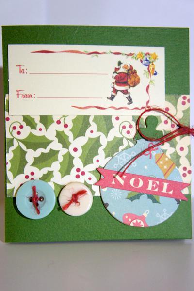 Christmas Gift Card Holder 1