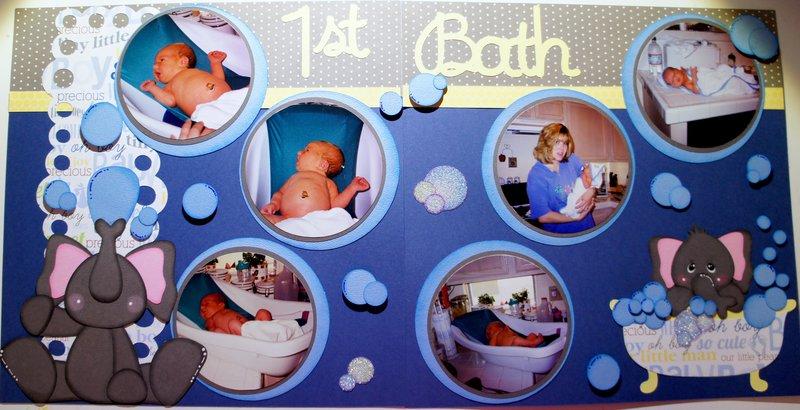 Baby's First Bath