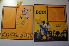 Disney Mini Album Pull Out Tabs Halloween