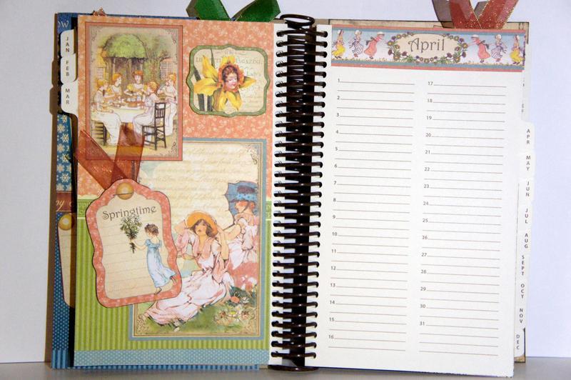 G45 Place in Time Perpetual Calendar April