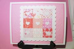 Valentine Quilt card