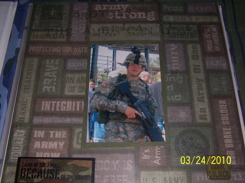 My Brother, the American Soldier