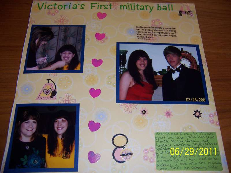 My Sister's First Military Ball