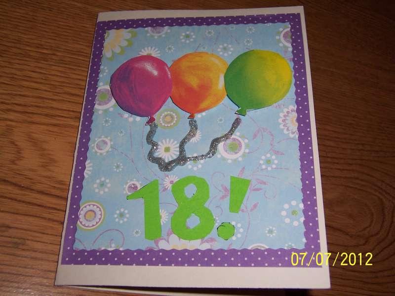 Sister's 18th Birthday