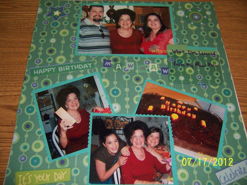 Grandma's birthday-2007