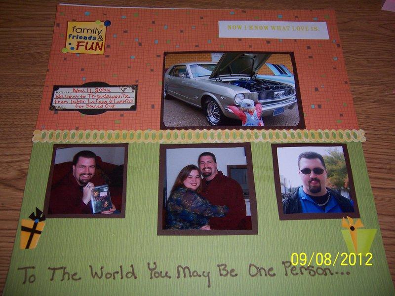 Hubby's Birthday Part 1 (nov. 2006)