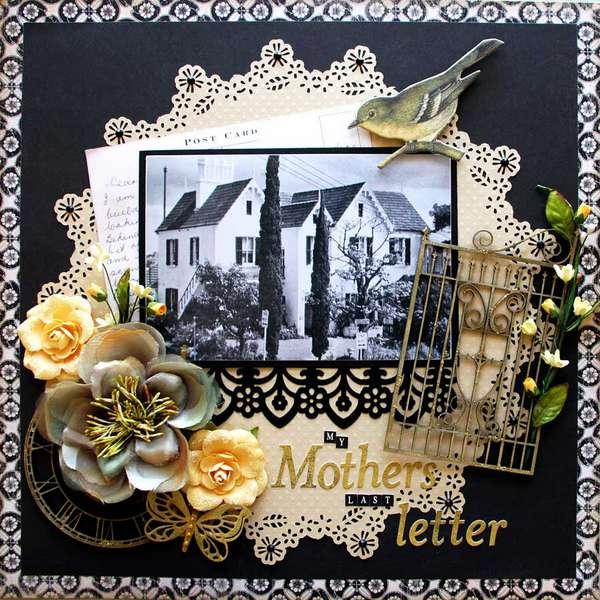 Mothers last letter