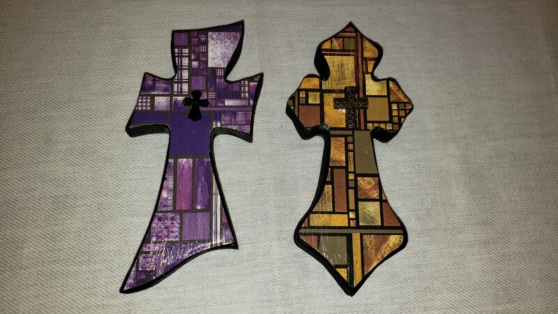 "6"" Altered Crosses"