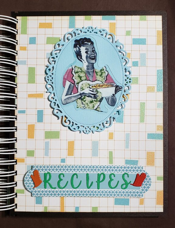 Cookbook for Secret Santa gift COVER