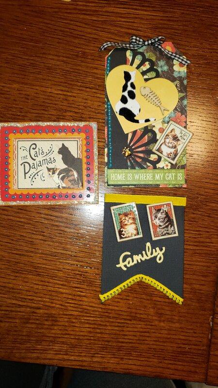 Cat Embellishments for Secret Santa gift