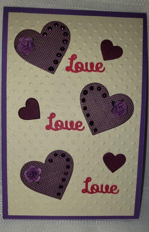 Sketch #4 Valentine Card