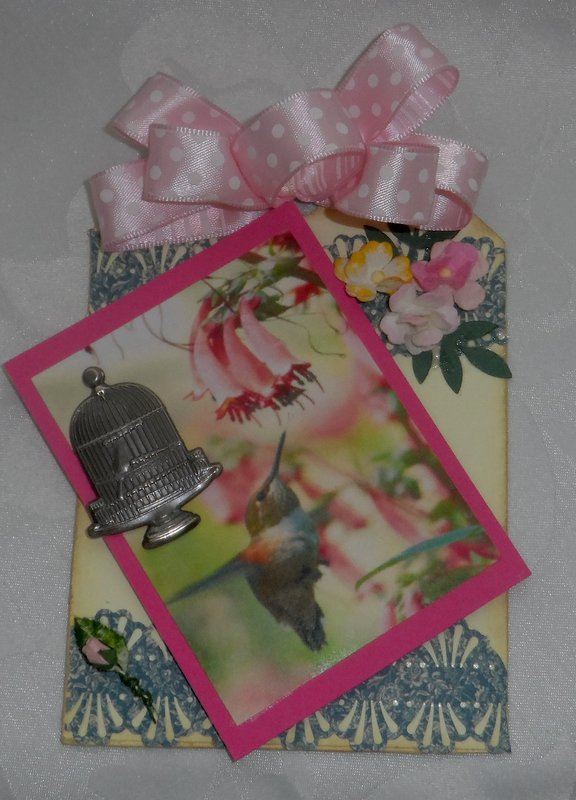 Bird Theme Tag for Martica's Swap