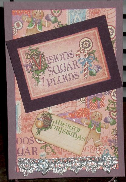 Nutcracker Christmas Card (Visions of Sugar Plums)