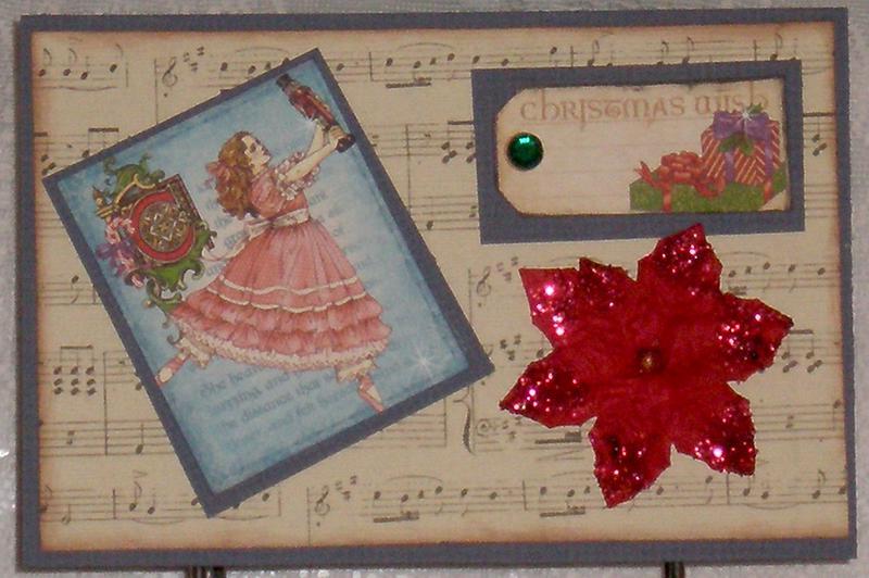 Clara's Christmas wish Christma card
