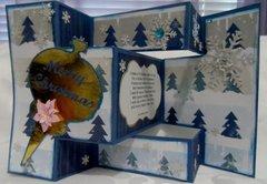 Tri-Fold Shutter Christmas Card  4