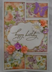 Tri-Fold Birthday Card (closed)