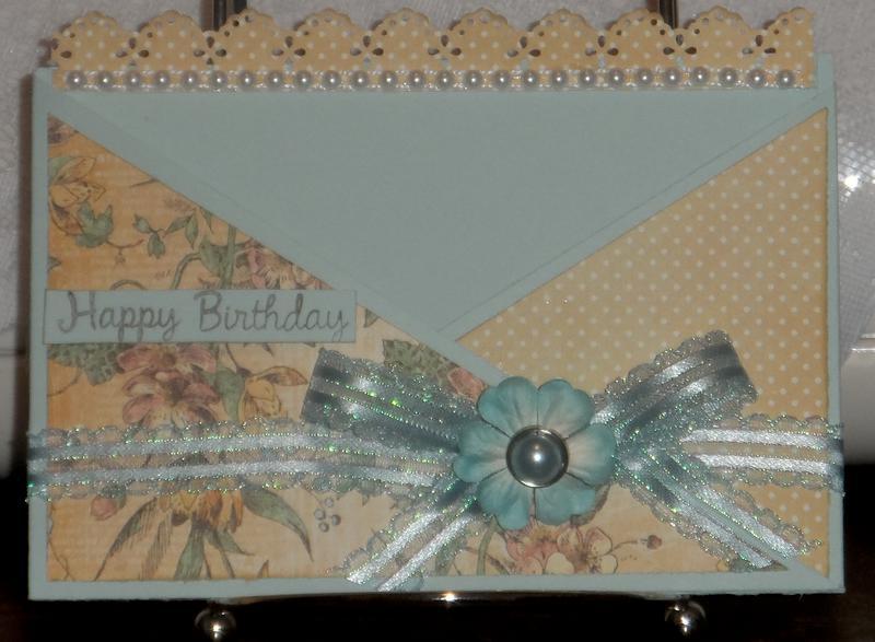 Birthday Criss Cross Card