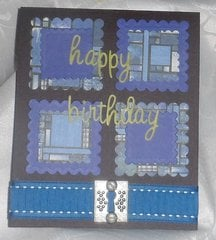 Birthday Card for a Male