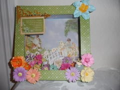 Secret Garden Shadow Box (for Martica's Swap)