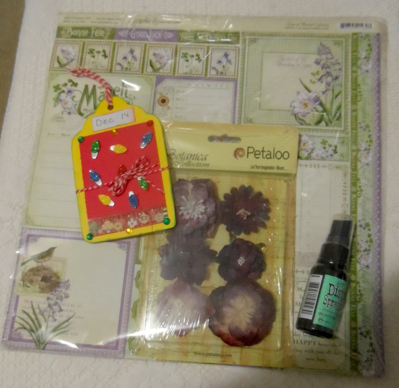 On the 1st day of Christmas - 12 day of Christmas swap