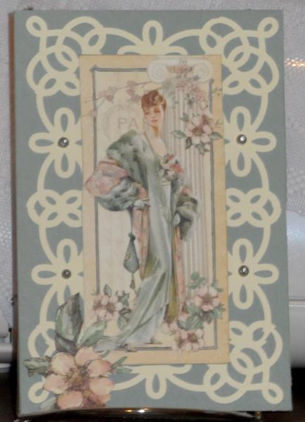 A Lady Card