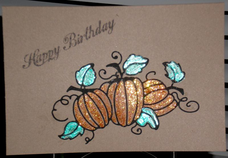 Holloween Birthday card