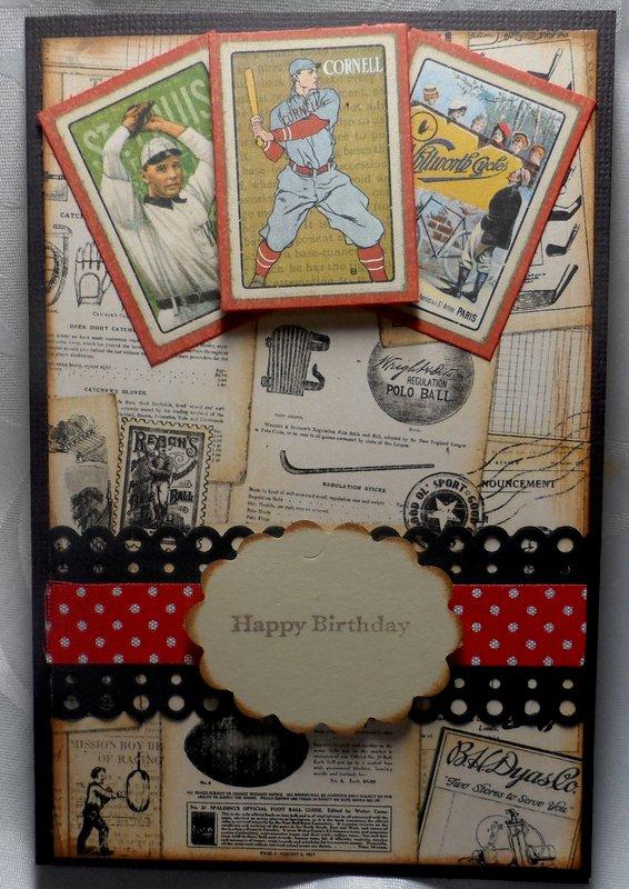 Masculine Birthday Card