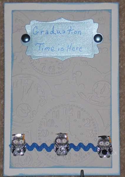 Graduation Time card