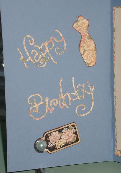 Birthday Card ( Inside cover)