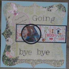 Going Bye Bye