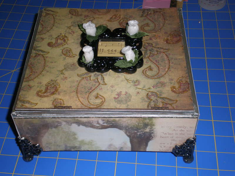 Altered Cigar Box made by 8 year old