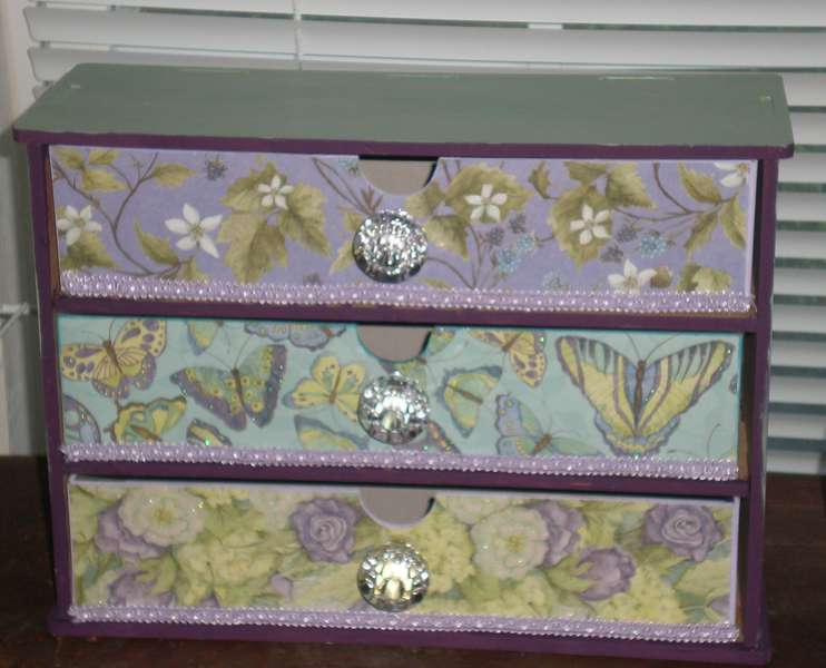 Drawer for Chihuahua's clothes