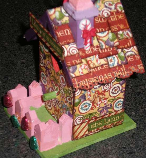 Nutcracker themed Christmas Ornament *Sweet Land*