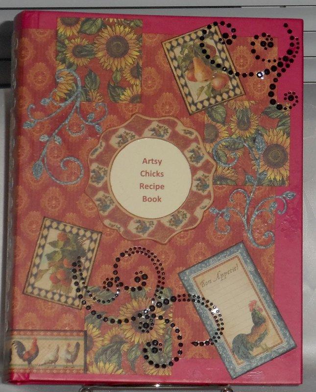 Artsy Chicks Recipe Book