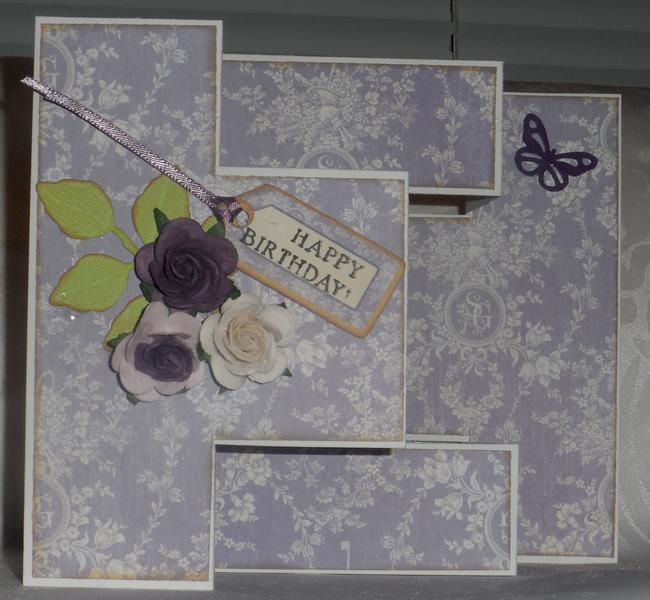 Tri Fold Birthday Card (view 1)