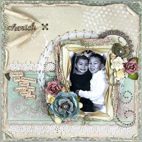 "Cherish *Scrap That! Pion Design ""Waiting for Santa"" Kit*"