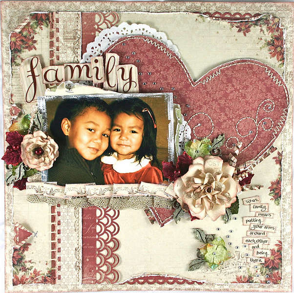 "Family *Scrap That! Pion Design ""Waiting for Santa"" Kit*"