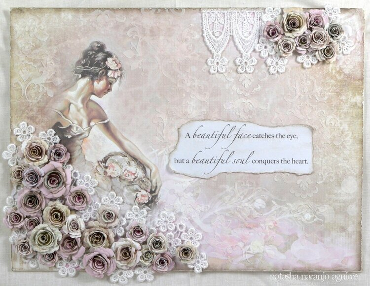 'Beautiful Soul' Canvas