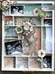 Sweet Memories Shadowbox Tray